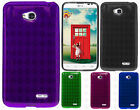 For LG Optimus Exceed 2 VS450 TPU CANDY Gel Flexi Skin Phone Case Cover Plaid