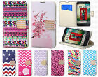 For LG Optimus Exceed 2 VS450 Premium Leather Wallet Pouch Flip Cover Accessory
