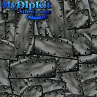 Hydrographics Film Water Transfer Printing Hydro Dipping Rivited Metal M-140-FLM