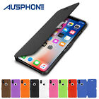 Premium Leather Ultra Slim Hard Back Case Cover For Apple iPhone 7 Plus 7 6S 5S