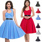 LOndon Vintage 1950s Retro Dress Pinup Swing Housewife Rockabilly Summer Dresses