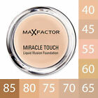 Max Factor Miracle Touch Liquid Illusion Foundation - Various Shades - 11.5g
