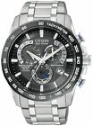 Citizen Titanium Sapphire Radio Controlled AT Chrono Perpetual Watch AT4010-50E