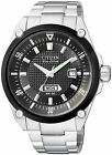 Citizen Eco-Drive Sapphire Japan 100m Black Mens Watch BM5005-69E