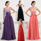 CLEARANCE CHEAP❤ BEADED Long Evening Prom Gowns Party Wedding Homecoming Dresses