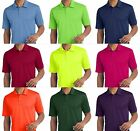 Port Authority Silk Touch Polo Shirt moisture wick S- 4XL CASUAL pullover GOLF