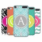 HEAD CASE DESIGNS LETTER CASES HARD BACK CASE FOR APPLE iPOD TOUCH 5G 5TH GEN