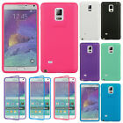 For Samsung Galaxy Note 4 TPU Wrap Up Phone Case with Built In Screen Protector