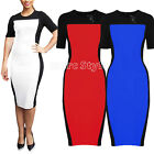 Kattee Womens Ladies Fitted Formal Party Pencil Bodycon Dress