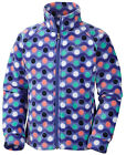 COLUMBIA Benton Springs™ Girl's 4-6X Purple Dot Fleece Jacket *NWT*