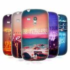 HEAD CASE WORDS SERIES 4 SILICONE GEL CASE FOR SAMSUNG GALAXY S3 III MINI I8190