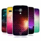 HEAD CASE PRINTED STUDDED OMBRE SILICONE GEL CASE FOR MOTOROLA MOTO G