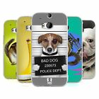 HEAD CASE FUNNY ANIMALS SILICONE GEL CASE FOR HTC ONE M8