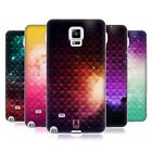 HEAD CASE PRINTED STUDDED OMBRE SILICONE GEL CASE FOR SAMSUNG GALAXY NOTE 4