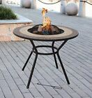 VERONA Firepit Table, Outdoor BBQ, Chair Set Available, RAIN COVER, SPARE GRILL