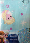 DISNEY FROZEN ANNA ELSA DESIGN TABLE CLOTH PLAY BIRTHDAY PARTY COVER/INVITATIONS