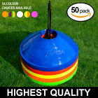 FORZA Training Cones [50qty] - RANGE OF COLOURS - Football/Sports Marker Disc