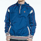 Mens Fila Mecalle Italia Blue Cagoule Jacket