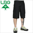 NEW LRG Lifted Research Group  black cross cargo  walk long shorts 32