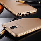 Luxury Ultra-thin Aluminum Metal Bumper PC Back Case Cover For Samsung Galaxy