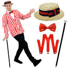 MENS EDWARDIAN COSTUME OLD ENGLAND FANCY DRESS BARBERSHOP QUARTET BOOK CHARACTER