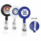 CUSTOMIZE RETRACTABLE ID BADGE REEL WITH YOUR LOGO FULL COLOR ID BADGE HOLDER