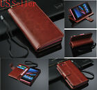 Leather Purse Wallet stand case cover For Sony Xperia