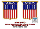 SP - M340 1972 FORD - MAVERICK or PINTO - SPRINT USA BODY SHIELD - DECAL SET