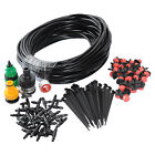 DIY Micro Drip Irrigation System Plant Self Watering Outdoor Garden Hose Kits