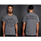 Roots of Fight Glendale Fighting Club T-Shirt - Heather Grey