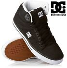 DC SHOES men's SPARTAN HI WC HIGH trainers BLACK / WHITE BWB skate new