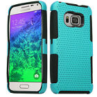 For Samsung Galaxy S6 MESH Hybrid Silicone Rubber Skin Protector Case Cover