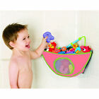 Cute Unisex boys Funny Kids Baby Bath Tub Toy Bag Hanging Organizer Storage Bag