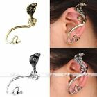 1x Punk Retro Mens Snake Cartilage Left Ear Cuff Wrap Clip Earring Charm Jewerly