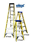 Electricians Fibre Glass step Ladder - Choose from 4,6 or 8 Step Tread