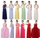 New Women's Sexy Party Evening Wedding Bridesmaid Prom Ball Long Dress Formal