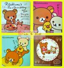4 Styles of San-X RILAKKUMA Car Road Tax Disc Holder Decal Sticker