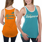 Miami Dolphins Women's Home Game Tank Top - Aqua - NFL