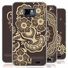 HEAD CASE HENNA GEL CASE FÜR SAMSUNG GALAXY S2 II I9100