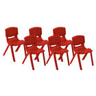 "ECR4Kids Resin Stack Chair 10""  (6 PACK)  FREE SHIPPING!"