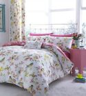"""Birds Boutique Fully Lined Curtains With Eyelet Header, 66"""" x 72"""""""