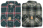 Polo Ralph Lauren Denim & Supply Mens Green Plaid Flannel Slim Button Down Shirt