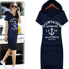New Summer Women Cotton Letter Print Casual Hoodie Long Hooded T-Shirty Bodycon