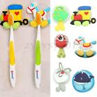 Silicone Cartoon Animal Toothbrush Holder Sucker Suction Hook Rack Bathroom