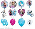 Disney Frozen Party Event Balloons Foil & Latex Olaf Anna Elsa Snow Flakes