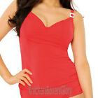 Curvy Kate Swimwear Paradise Underwired Tankini Top Red CS5006 Select Size