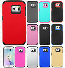 For Samsung Galaxy S6 EDGE Astronoot HARD Hybrid Rubber Silicone Case Cover