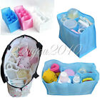 Baby Portable Diaper Nappy Water Bottle Changing Divider Storage Organizer Bags