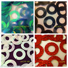 Sequins 30mm Large Round Ring Black White AB Red Aqua Blue/Green Choose Colour