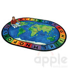 Circletime Around the World Oval Rug - Carpets for Kids - Free Shipping